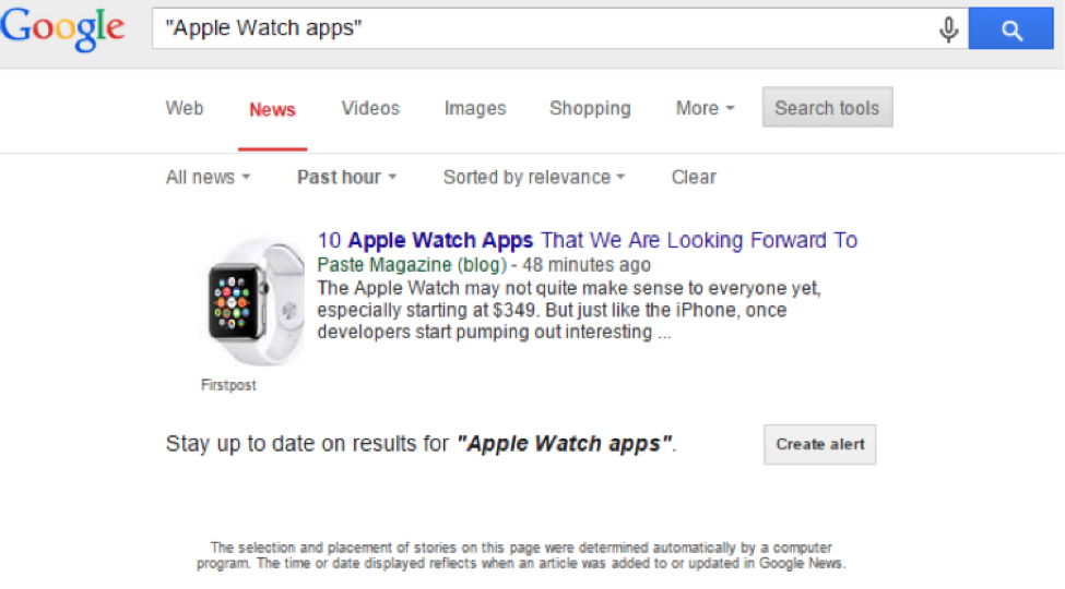 "Search results for ""Apple Watch"" Apps"